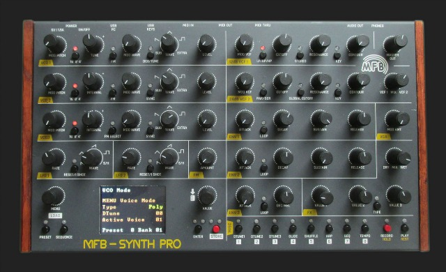 Synth Pro - MFB's New 8-Voice Polysynth