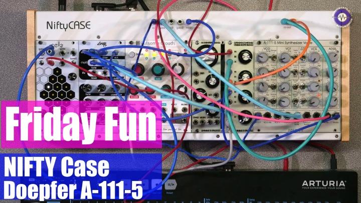 Modular Synth Case : friday fun modular synth jam nifty case bundle ~ Hamham.info Haus und Dekorationen