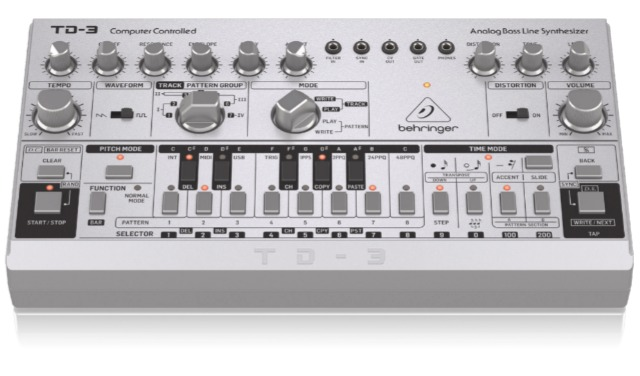 Behringer Drop The TD-3 And It's A Ringer For The 303