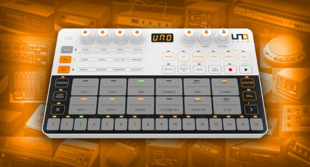 Vintage Drum Machine Sounds For UNO Drum