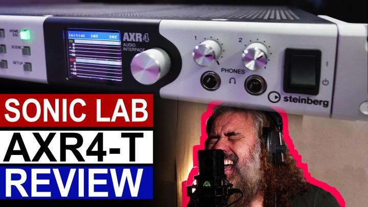 Sonic Lab: Steinberg AXR4-T High Resolution Audio Interface