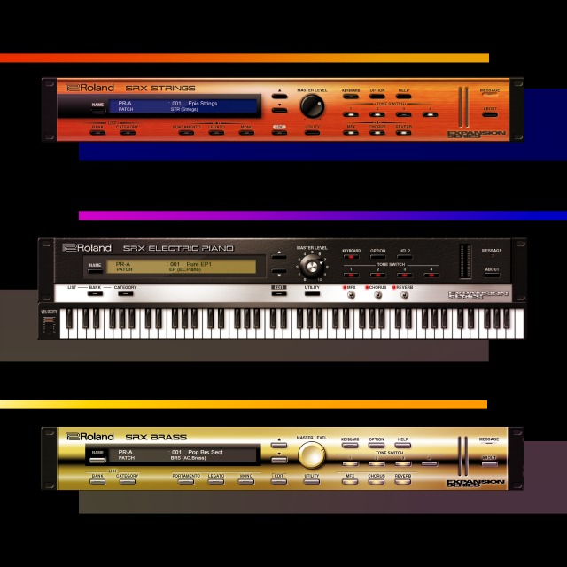 Three SRX Instruments For Roland Cloud