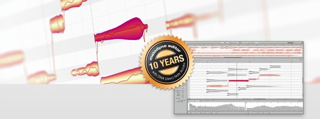 10 Years Of Melodyne With DNA