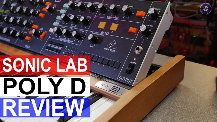 Sonic LAB: Behringer Poly D   - 4 Voice Analog