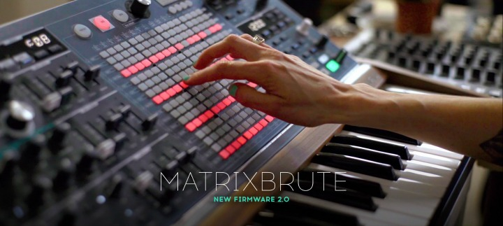 MatrixBrute Firmware 2.0 Adds Plenty, Fixes Too
