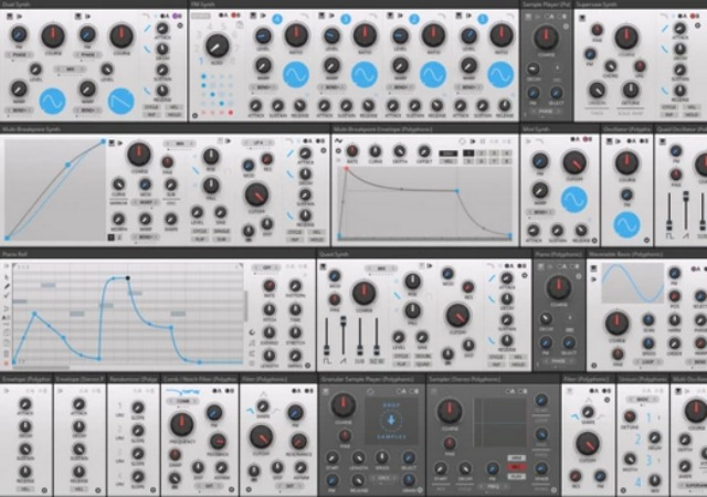 Synth Bundle For Reaktor Block Patch & Play
