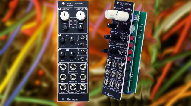 Sum & Difference Eurorack Module