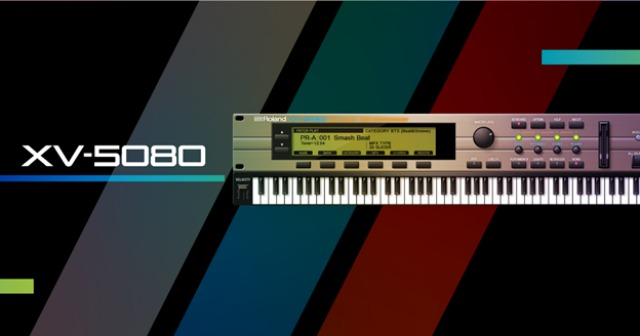 XV-5080 Now Available In Roland Cloud