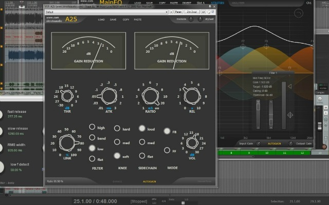 Classic Stereo Bus Compressor Revisited