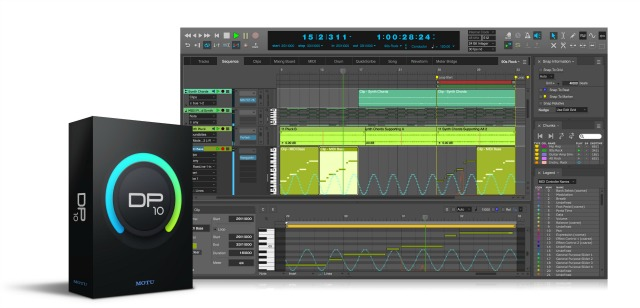 MOTU Ships Digital Performer 10.1