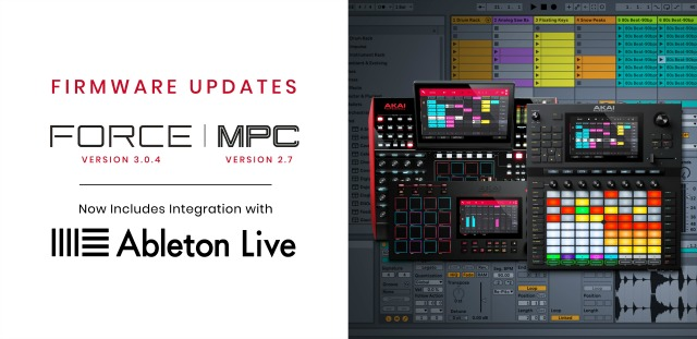 Ableton Integration In Akai Force And MPC