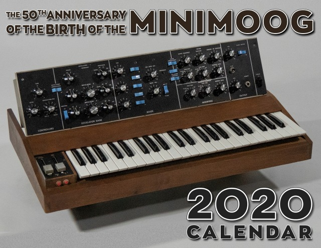 Bob Moog Foundation 2020 Calendar
