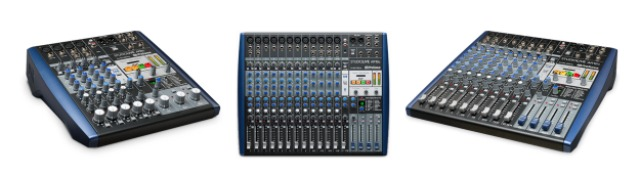 Three New Presonus Compact Mixers