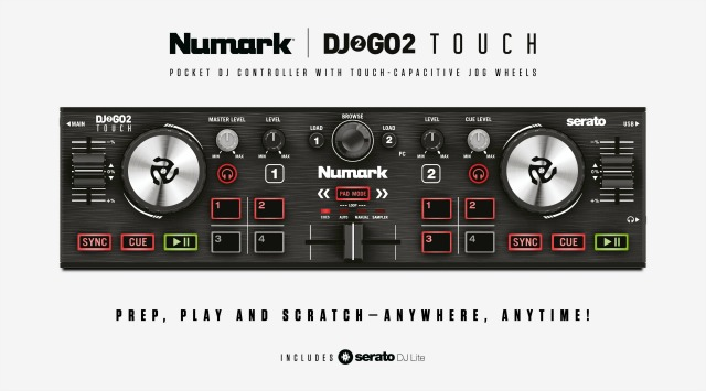 Enhanced Numark Pocket-Sized DJ Controller