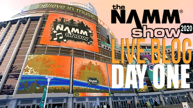 LIVE BLOG: NAMM 2020 Day 1