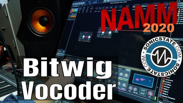 NAMM 2020: Bitwig Studio Updates And Treats