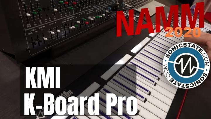 NAMM 2020: Keith McMillen K-Board Pro 4 MPE With Deckards Dream