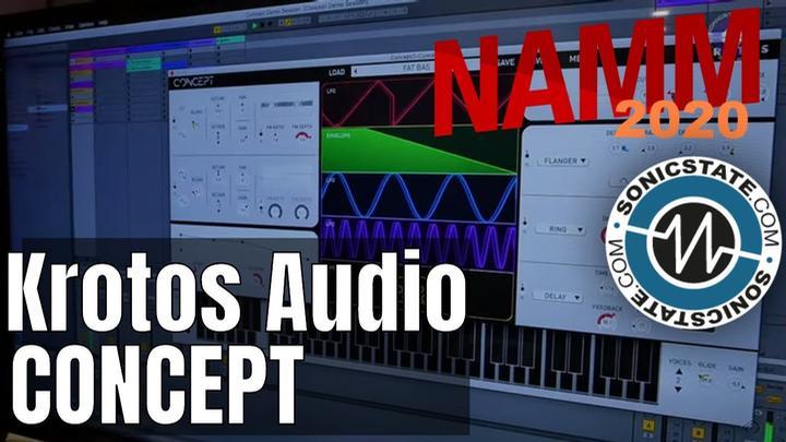 NAMM 2020: Krotos Audio Concept  - New Synth Plugin