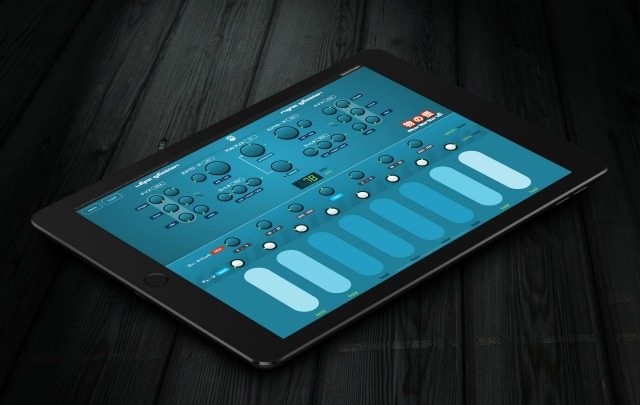 Expressive Drone Synthesizer For iOS