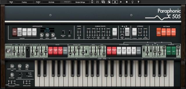 1970s Paraphonic String Machine Reimagined