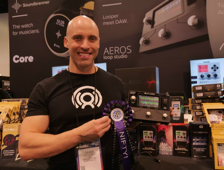 Sonicstate NAMM awards 2020 Nifty - Singular Sounds Aeros