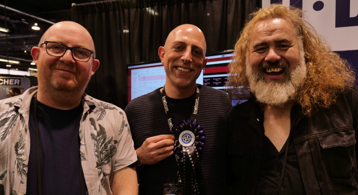 Sonicstate NAMM awards 2020 Amos Gaynes MIDI 2.0