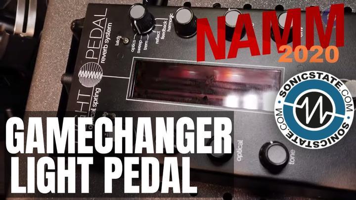 NAMM 2020: GameChanger Audio Light Pedal
