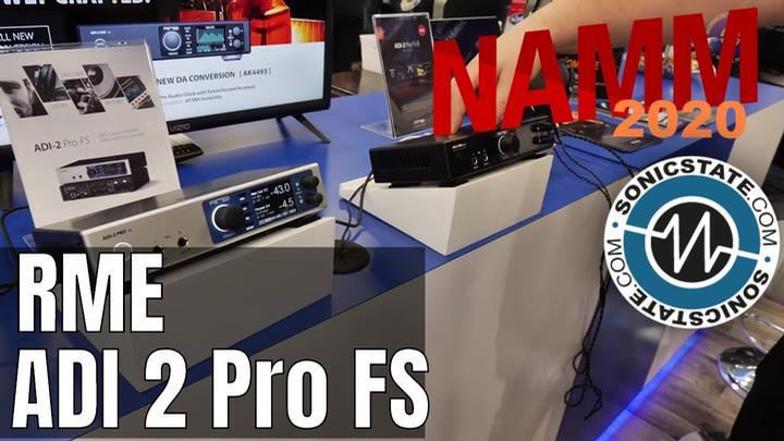 NAMM 2020: RME Updates to ADI 2 Pro, ADI DAC and Babyface Pro