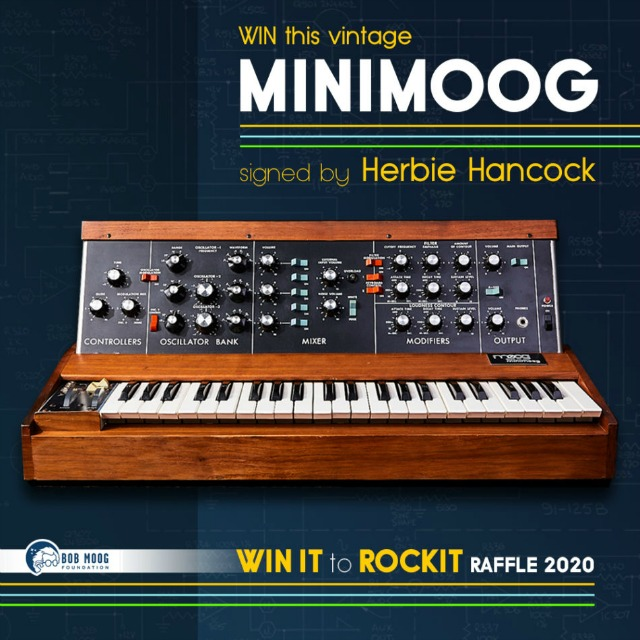 Win A Vintage Minimoog Synthesizer