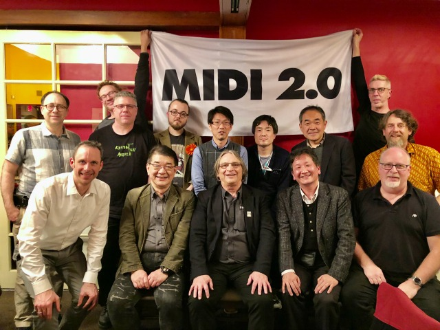 MIDI 2.0 Official Announcement