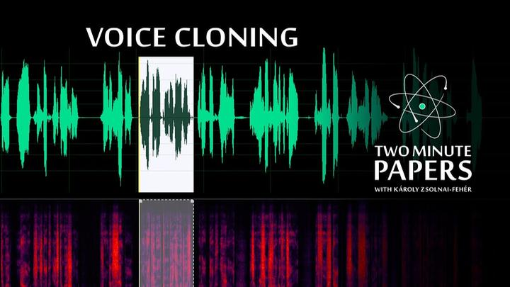 Human Speech A.I. Cloned From 5 Second Samples