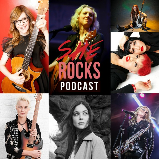 She Rocks Podcast Makes Its Debut