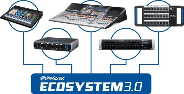 PreSonus Updates Its AVB Ecosystem