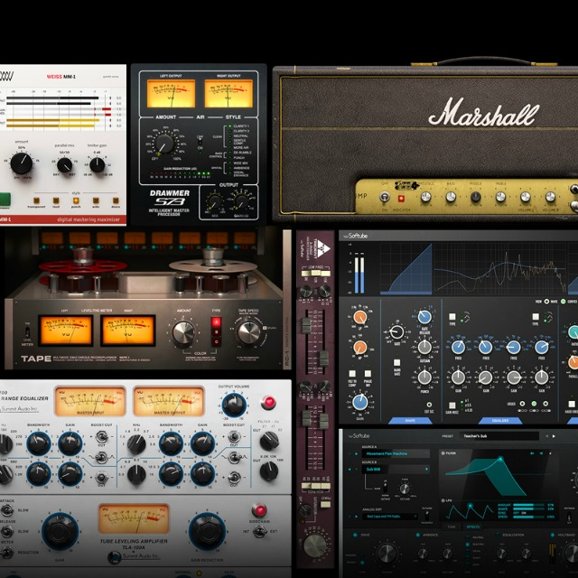 Softube Releases Volume 4 Plug-in Collection