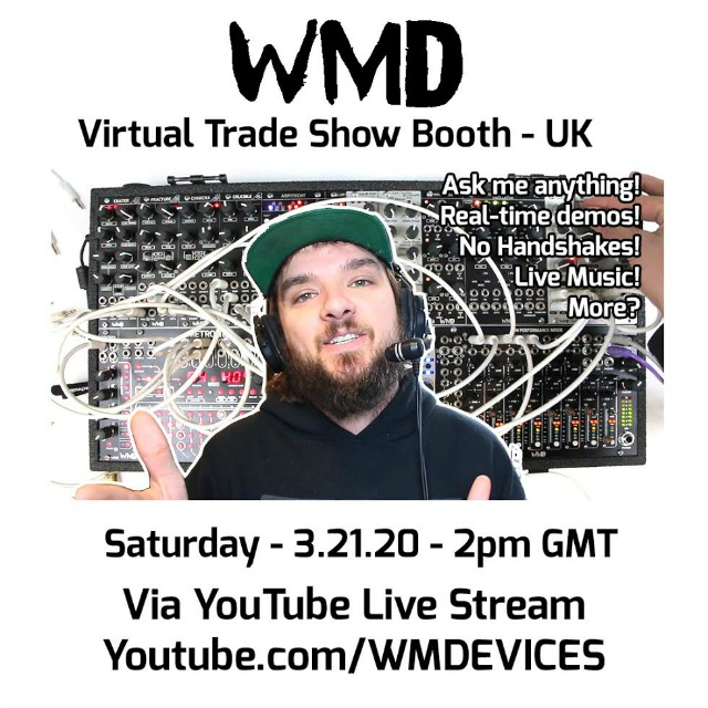 WMD Announces Virtual Trade Show Booth