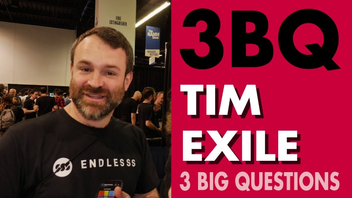 3 BIG Questions: Tim Exile