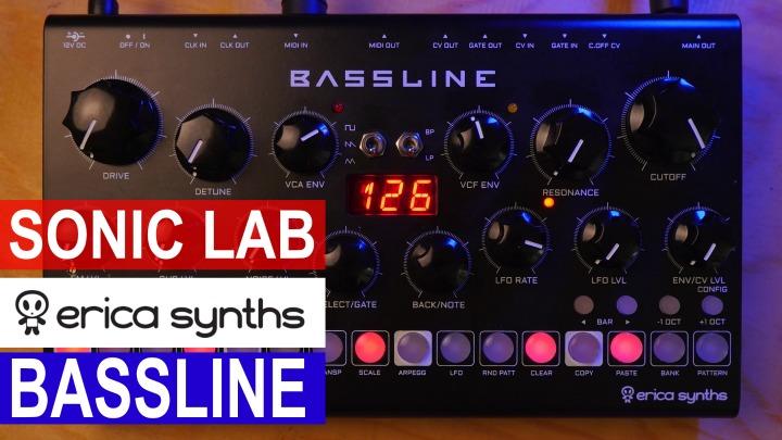 Sonic LAB: Erica Synths DB-01 Bassline