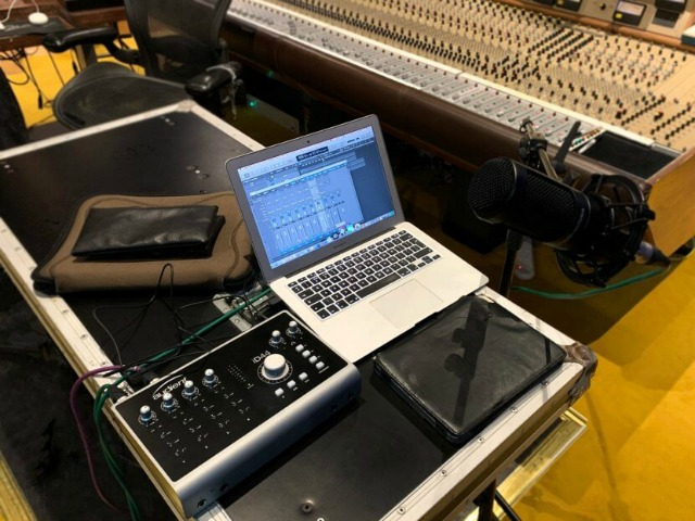 Audient Sponsors New Recording Podcast