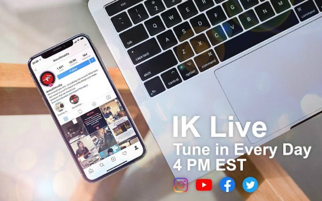 IK Multimedia Launches Daily Live Series