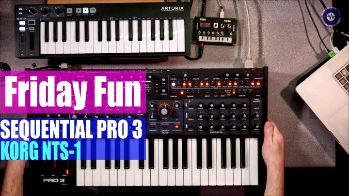 Friday Fun: Sequential Pro 3 Korg NTS-1 Synth Jam