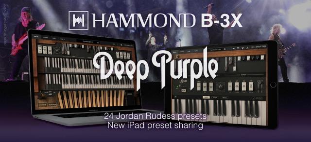 IK Multimedia Updates Hammond B-3X