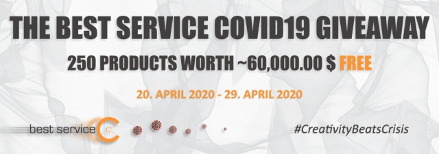 The Best Service Covid19 Giveaway