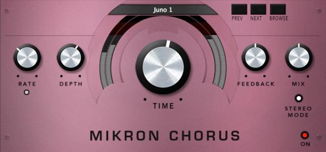 Juno-Style Chorus Plug-In