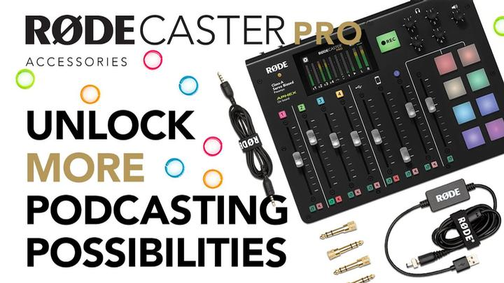 RODE RodeCaster Pro Podcast Broadcast Mixer-New! prosounduniverse
