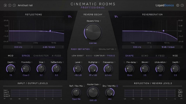 LiquidSonics Introduces Cinematic Rooms