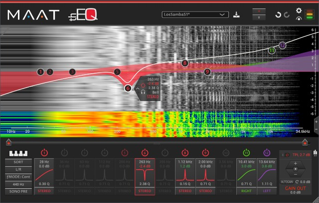 MAAT  Releases thEQred Linear Phase EQ