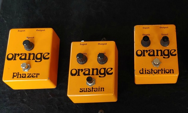 Do You Have Rare 1970's Orange Stompboxes?