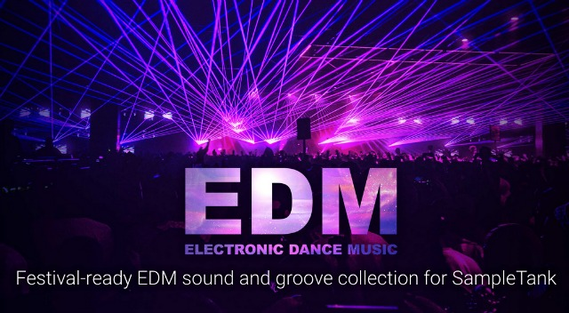 EDM Sounds For SampleTank 4