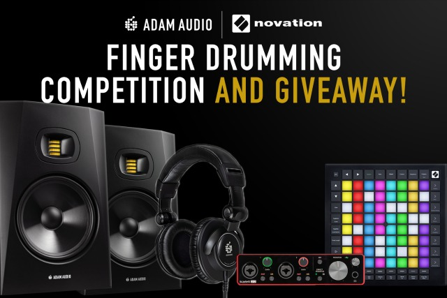 Finger Drumming Skills Producer Challenge by Novation