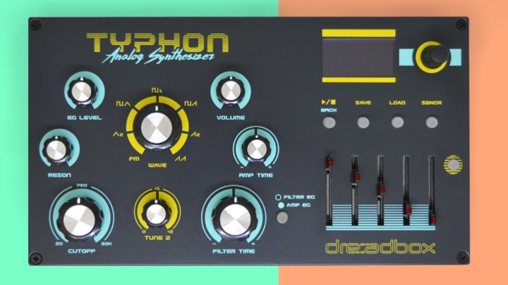Dreadbox Unveils New Typhon Analog Synth